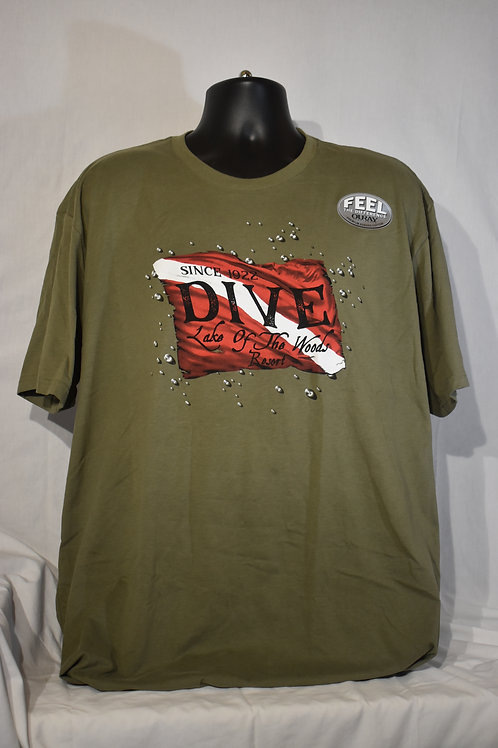 Dive Soft Sueded T-Shirt
