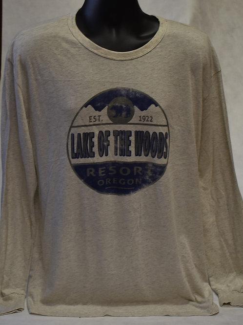 T-Shirt: Blue84 M Soul Mtn L/S