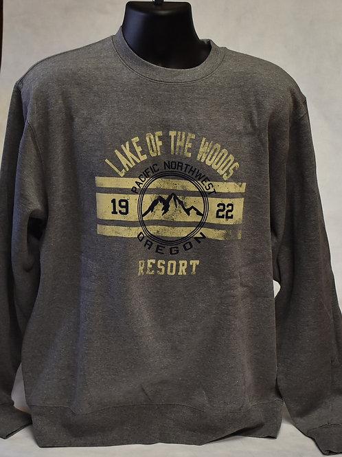 Sweatshirt: Blue 84 One Wish Mountain FF