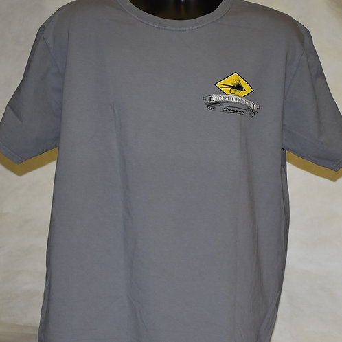 T-Shirt: Blue84 Spillproof Rainbow Trout FB