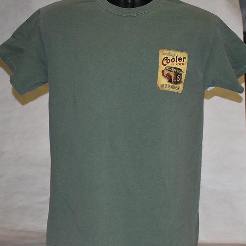 T Shirt Woody/Lake Scene Blue 84