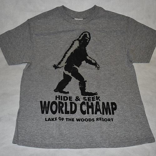 Kids: Kid Tees Bigfoot Champ