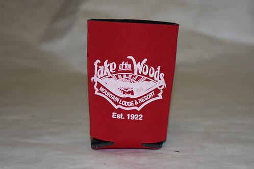 Low Coozie (Red)