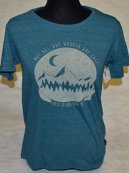 Tshirt Blue 84 Coarse Grain Mnt/Pines Soft YF