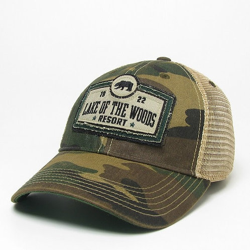 Hat: OFY Youth CAmo Hat League Legacy