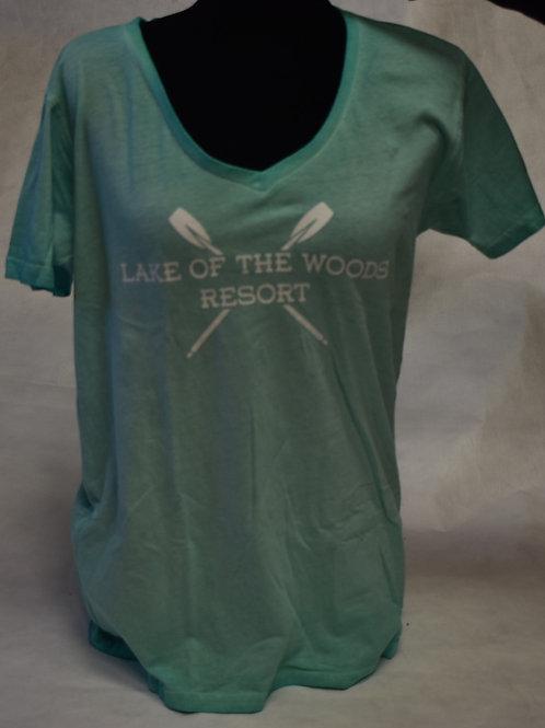 T-Shirt: Tipsy W Dirty Wash