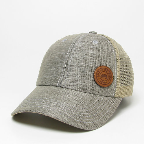 Grey Heathered/Khaki LO-PRO Snapback cap