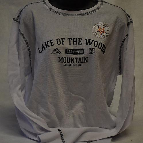 T-Shirt: Tipsy Men's Thermal Longsleeve