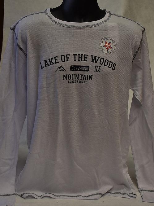T-Shirt: Tipsy Mens Thermal Longsleeve