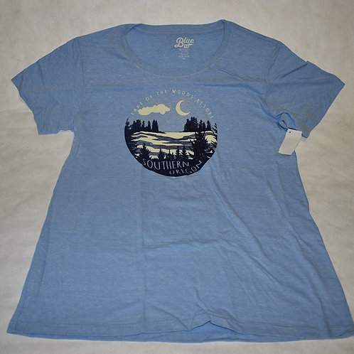 T-Shirt: Blue84 After Hours Pines/Lake Youth Female