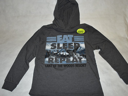 Kids: Kid Tees Hoodie Eat Sleep Advent