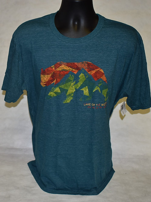 T-shirt Blue 84 Remnant Bear/Mountain