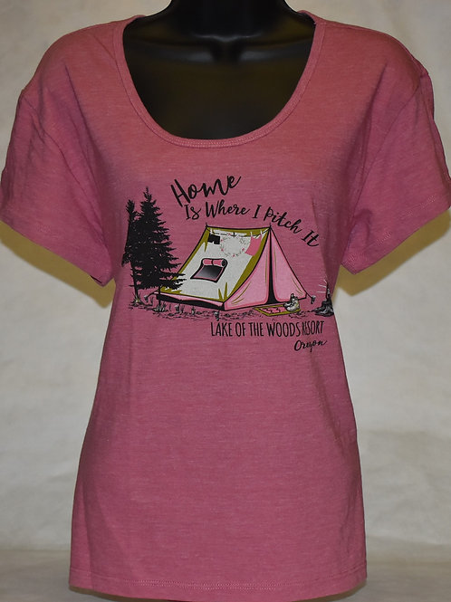 Tshirt Blue 84 Campy Tent/Pines Youth