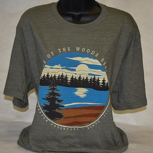 T-Shirt: Blue84 Sure Ground V2 Lake/Pine