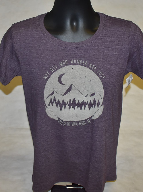 Tshirt Blue 84 Coarse Grain Mtn/Pines Soft YF