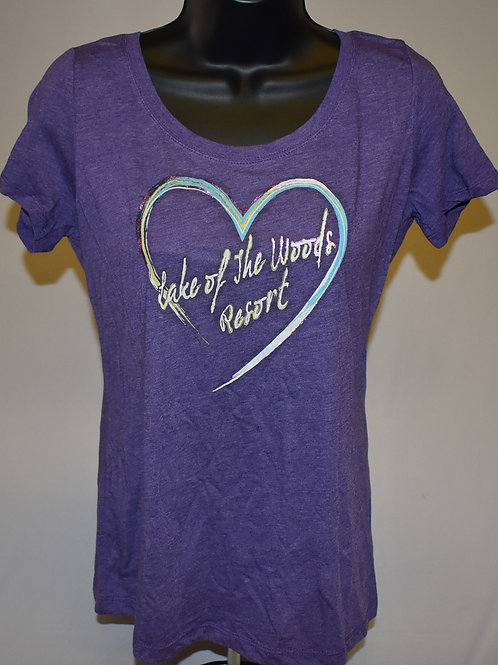 T-shirt: OR W Tri-Blend Scoop