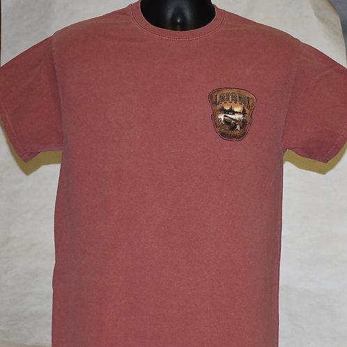 T Shirt: Canoe/Lake Blue 84