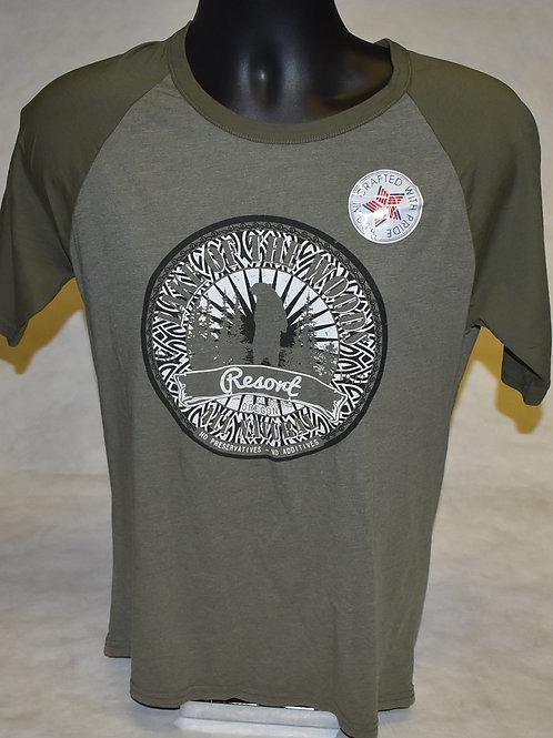 T-Shirt: Tipsy Men's Raglan Crewneck S/S Bear