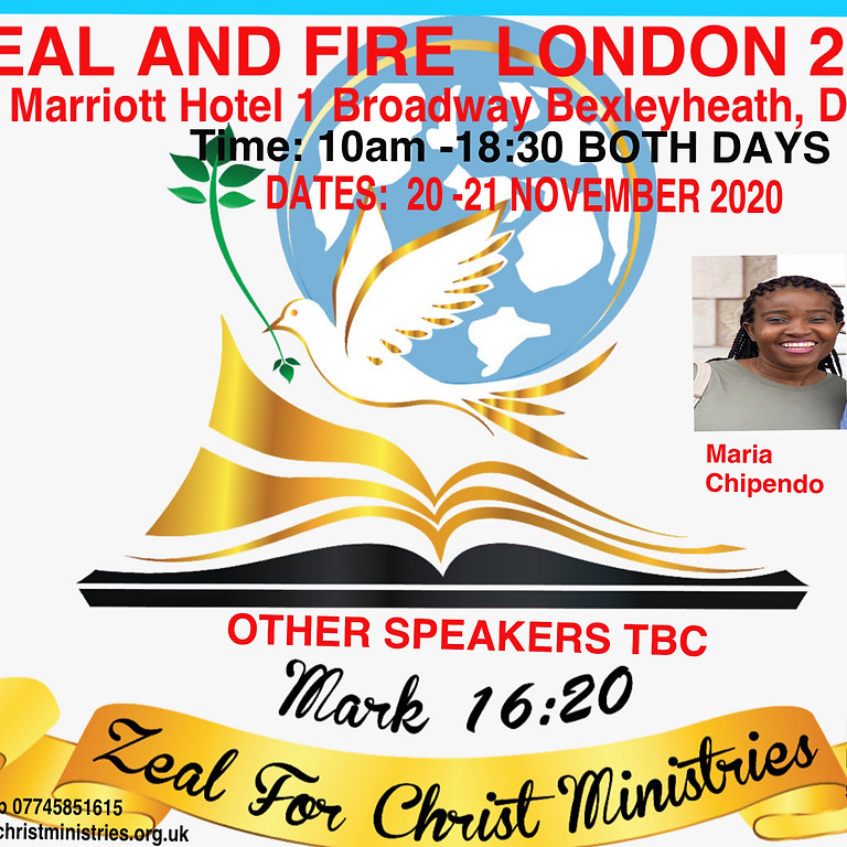 ZEAL AND FIRE LONDON 2020 SATURDAY