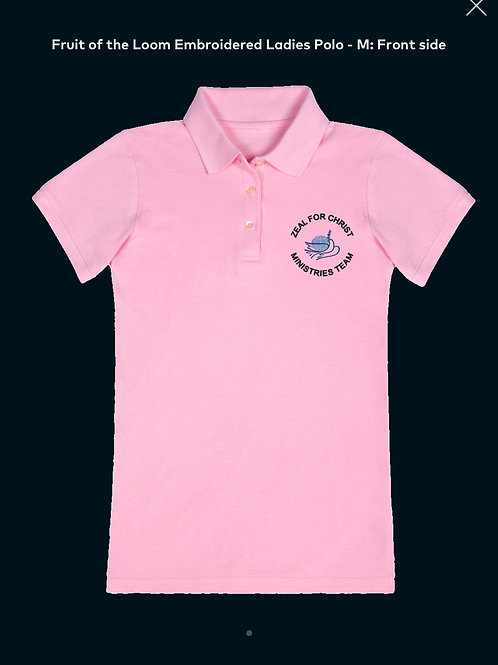 Zeal For Christ Ministries Polo