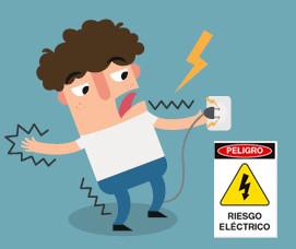 Los Peligros de la Corriente Eléctrica y como Protegerse