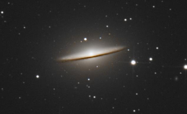 Galaxie du sombrero