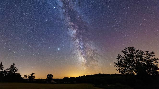 Voie  Lactée depuis Veyssou (46)