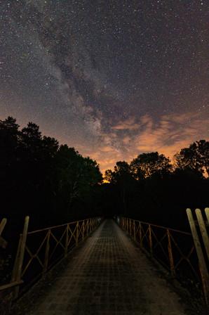 Milky way from Echoisy