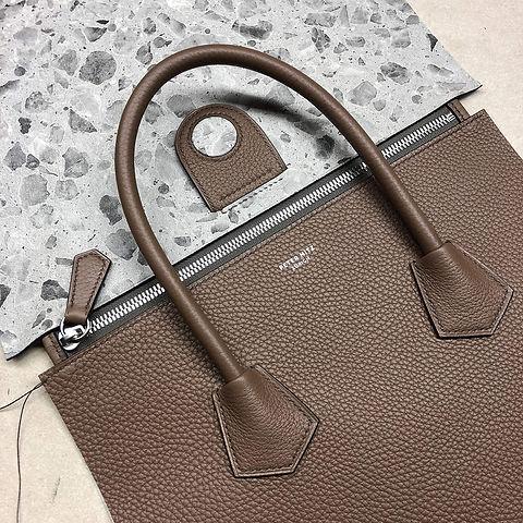 Peter-Nitz-Saddlestitched-handbag