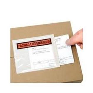 """Bolsa Canguro Packing List 4.5"""" x 5.5"""""""