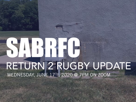 SABRFC Return 2 Rugby Update #3