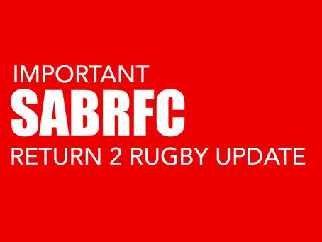 IMPORTANT SABRFC R2R UPDATE