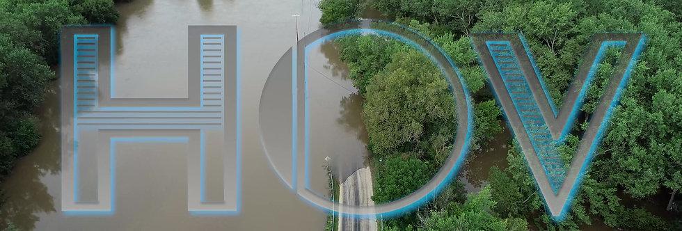 River Flooded Land, Sunny 1