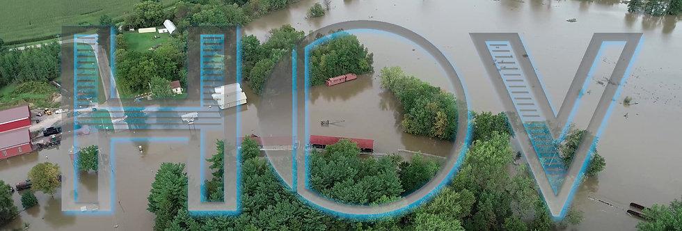 River Flooded Land Sunny 2