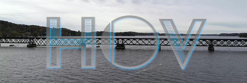 Lake Fall Overcast W/Bridge 1