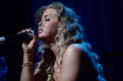 Cali Tucker performs at Dolby Theater