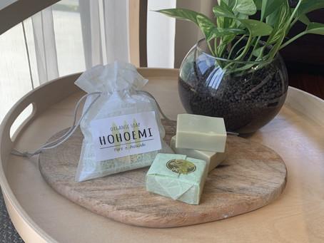 HOHOEMI Organic Soap発売開始