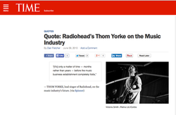 Thom Yorke in TIME