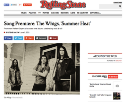 The Whigs - Rolling Stone