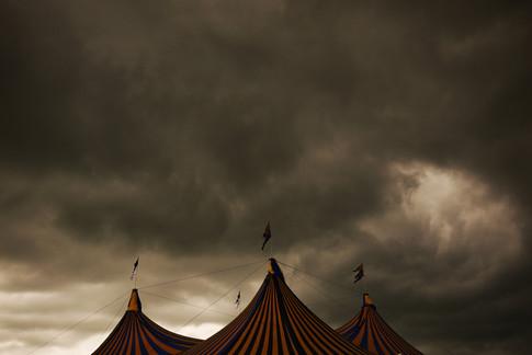 Glastonbury sky
