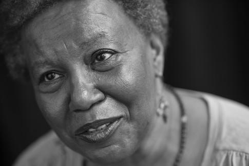 Poet Wanda Coleman