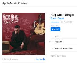 Gavin Glass - Album Cover