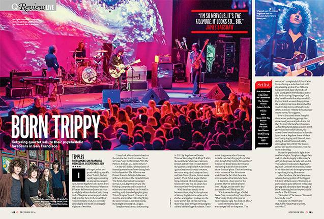 TEMPLES in Q Magazine (UK)