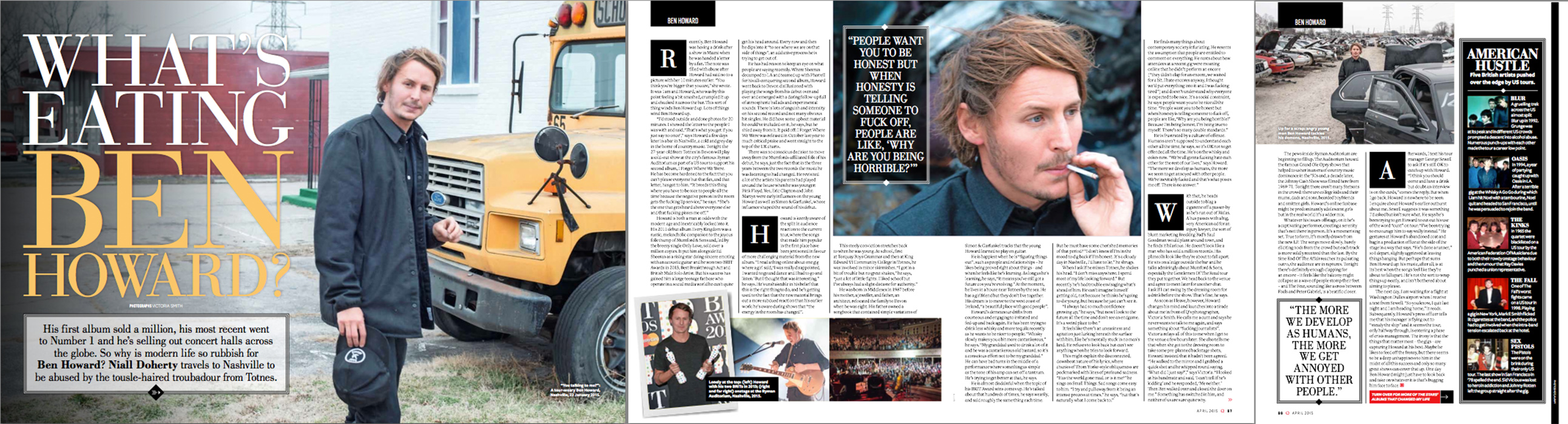 Ben Howard - Q Magazine