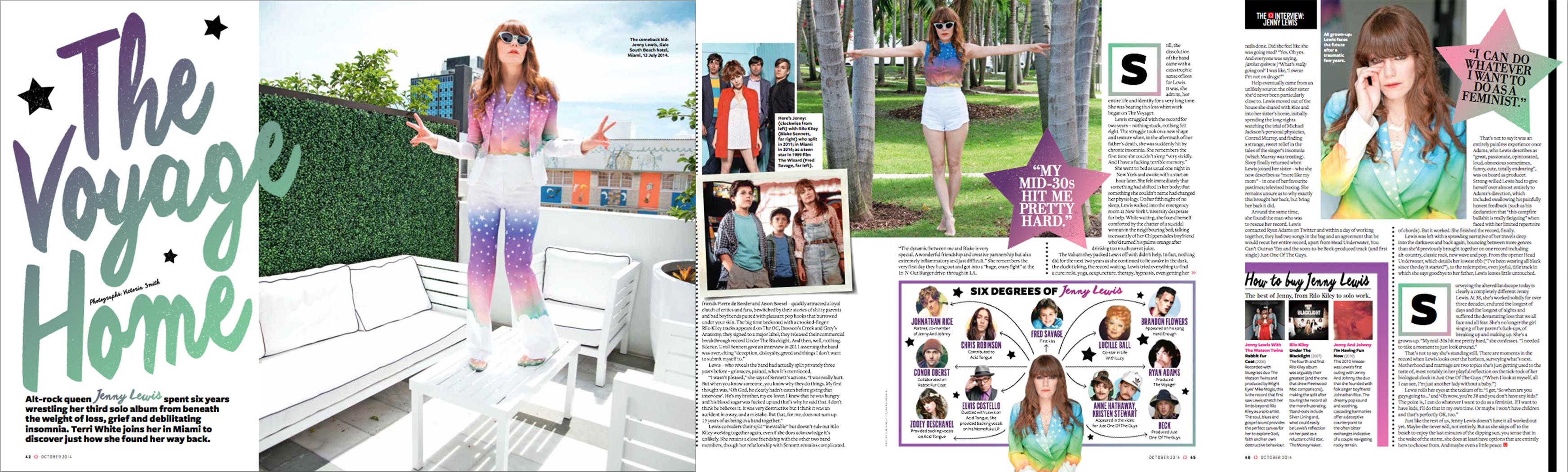 Jenny Lewis  - Q Magazine