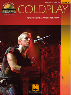 Chris Martin, Coldplay - Book Cover