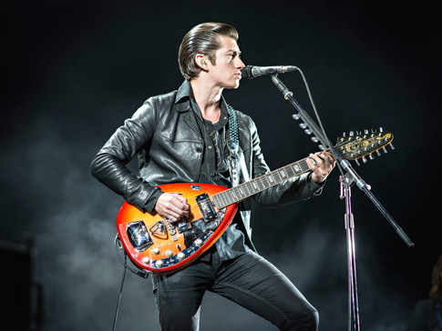 Alex Turner of Arctic Monkeys