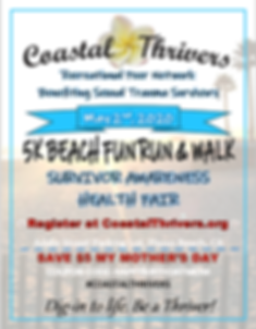 COASTAL THRIVERS 5K BEACH FUN RUN 2020 P