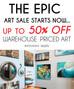 EPIC ART SALE