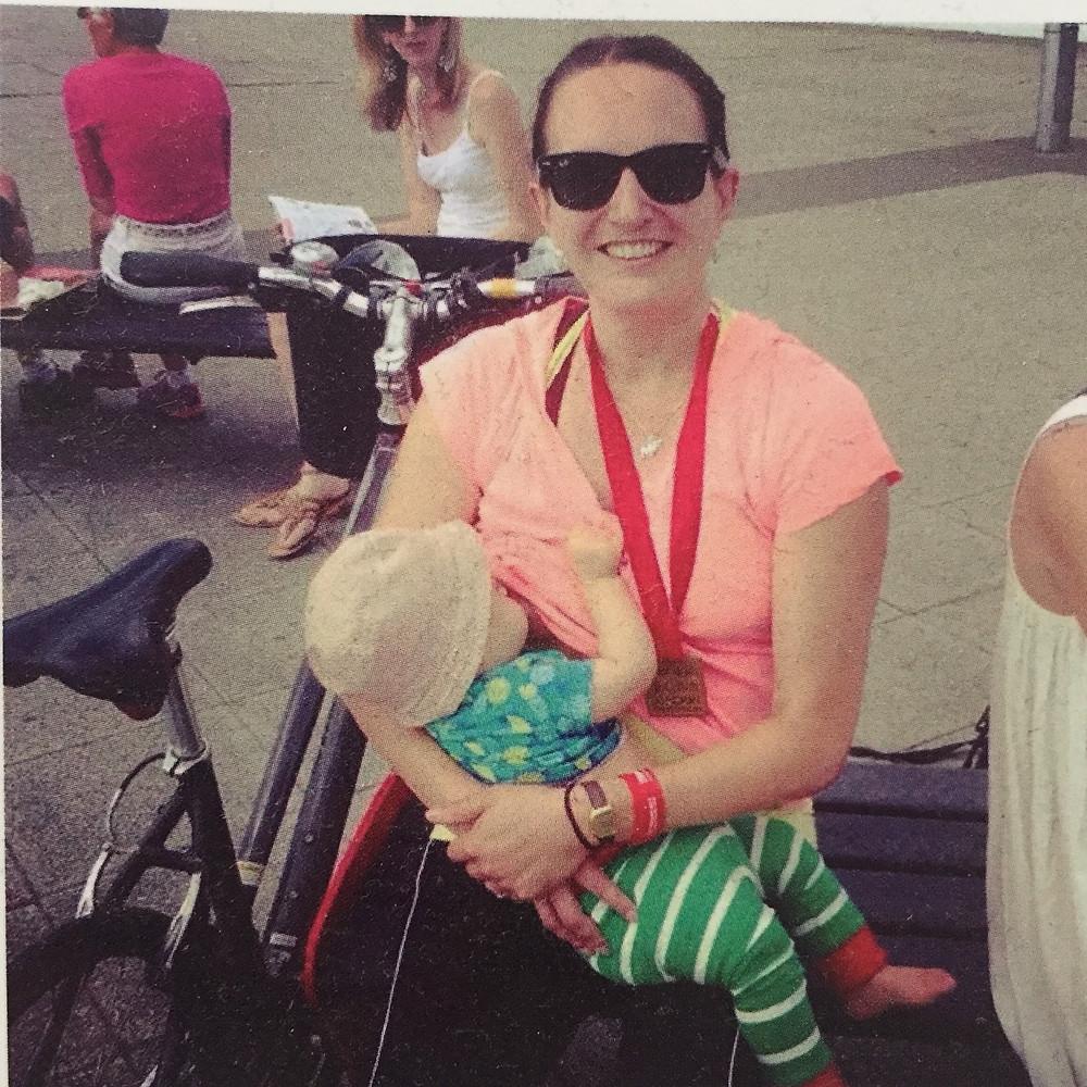 Breastfeeding at the London Triathlon